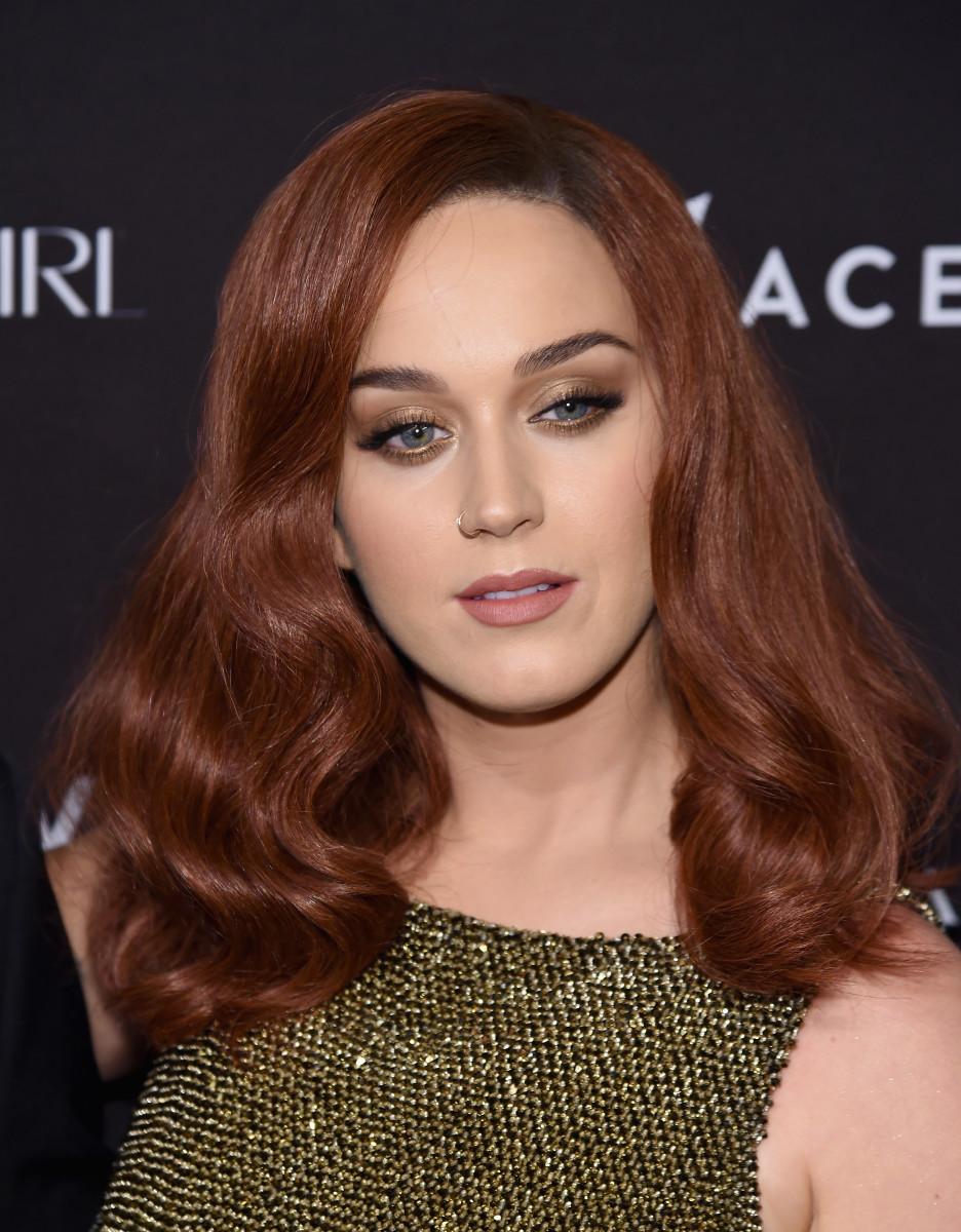 Katy Perry, Harper's Bazaar Icons event, 2015