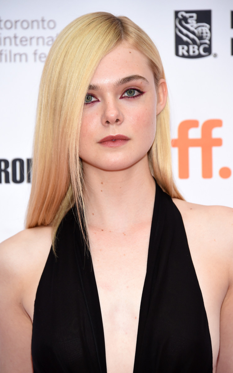 Elle Fanning, About Ray premiere, TIFF 2015