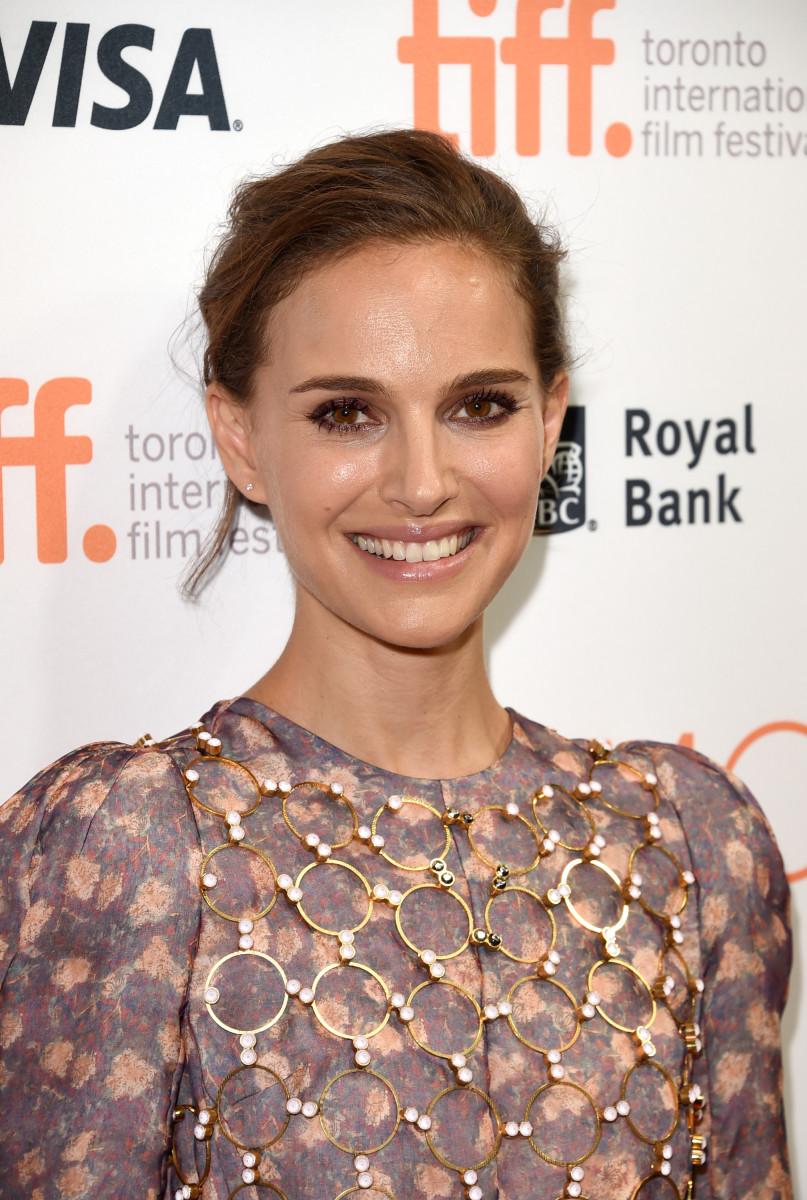 Natalie Portman, TIFF fundraising event, 2015