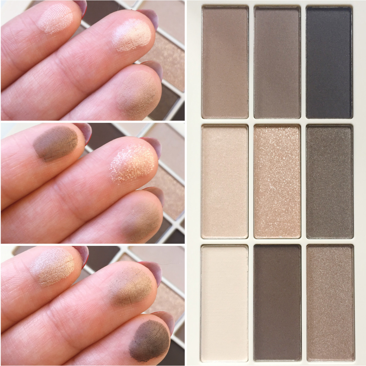 HM Eye Colour Palette in Smoky Nudes (swatches)