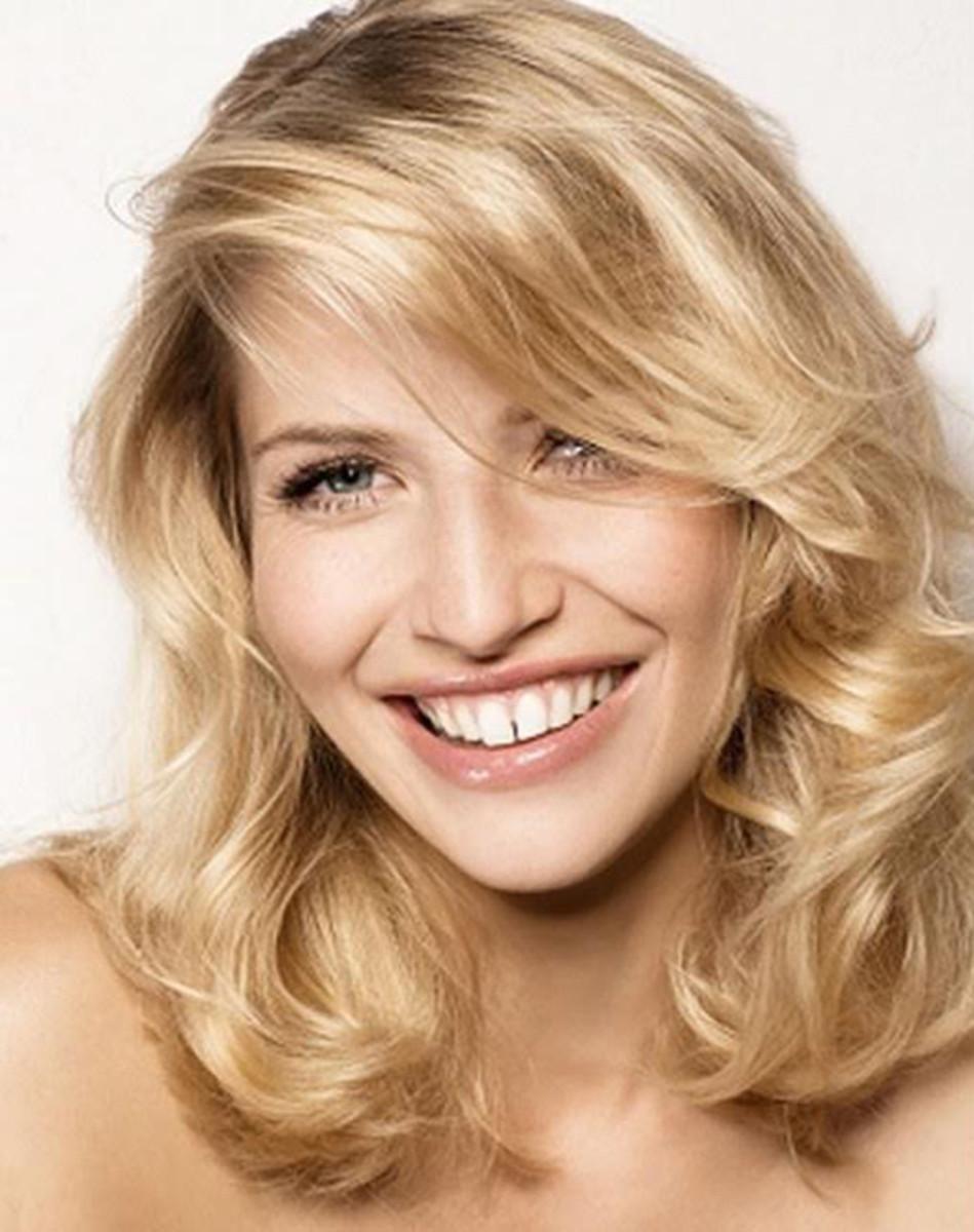 Blonde waves