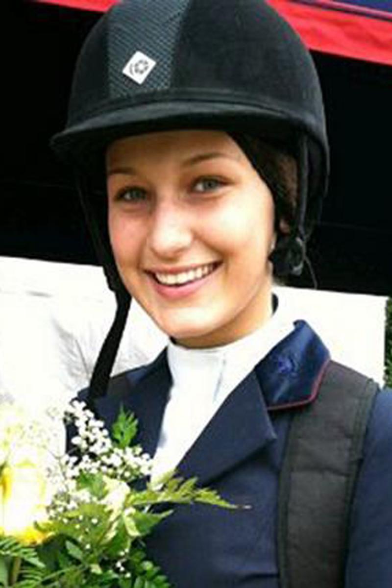 Bella Hadid, Sunnybrook Horse Show, 2009