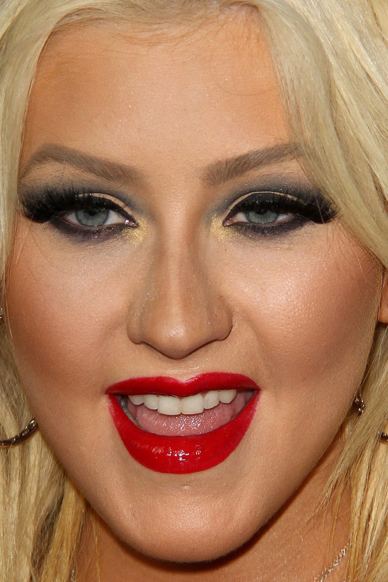 Christina Aguilera, The Voice Season 8 event, 2015