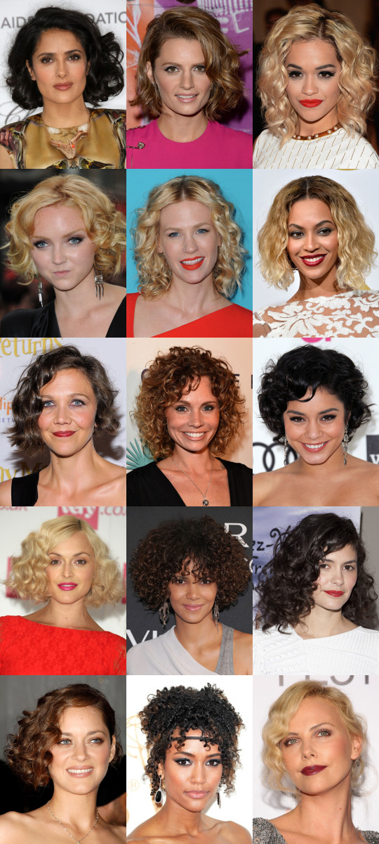 Best hairstyles for medium curly hair