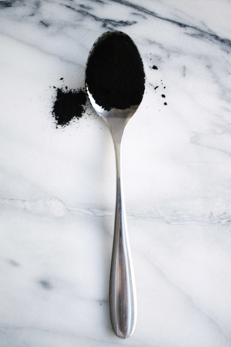 Activated charcoal fine powder