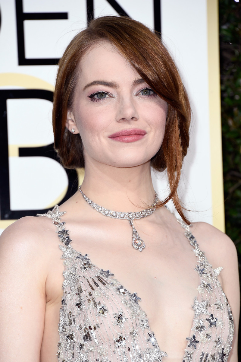 Emma Stone, Golden Globe Awards 2017