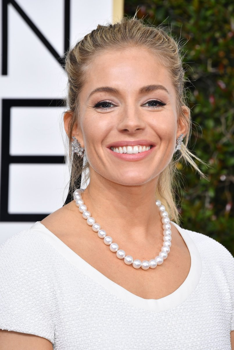 Sienna Miller, Golden Globe Awards 2017
