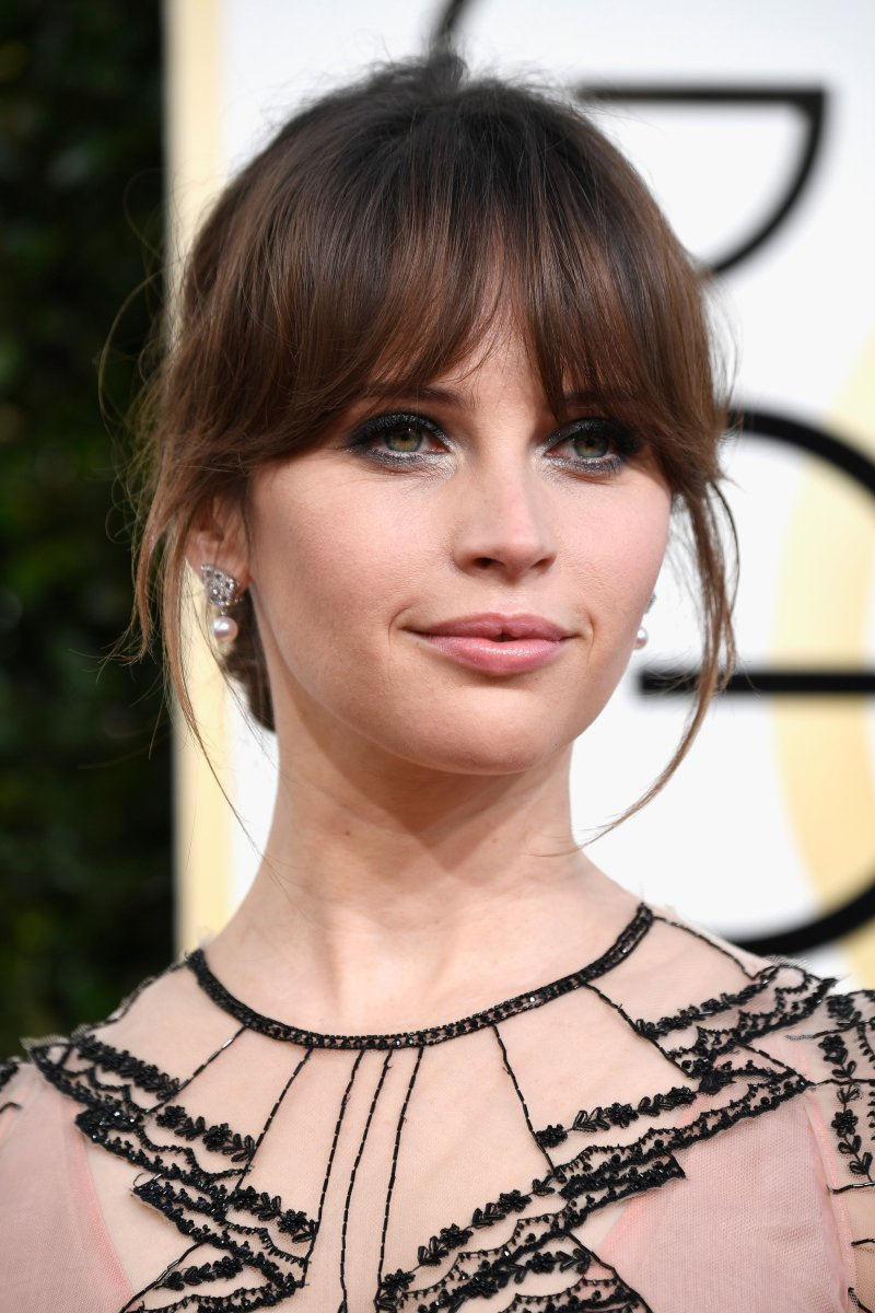 Felicity Jones, Golden Globe Awards 2017