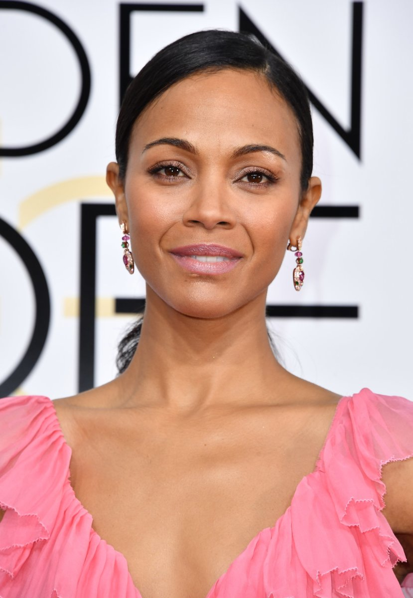 Zoe Saldana, Golden Globe Awards 2017