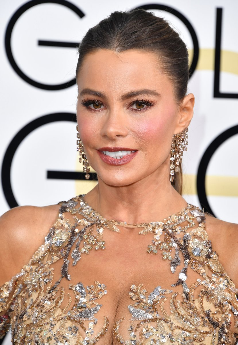 Sofia Vergara, Golden Globe Awards 2017