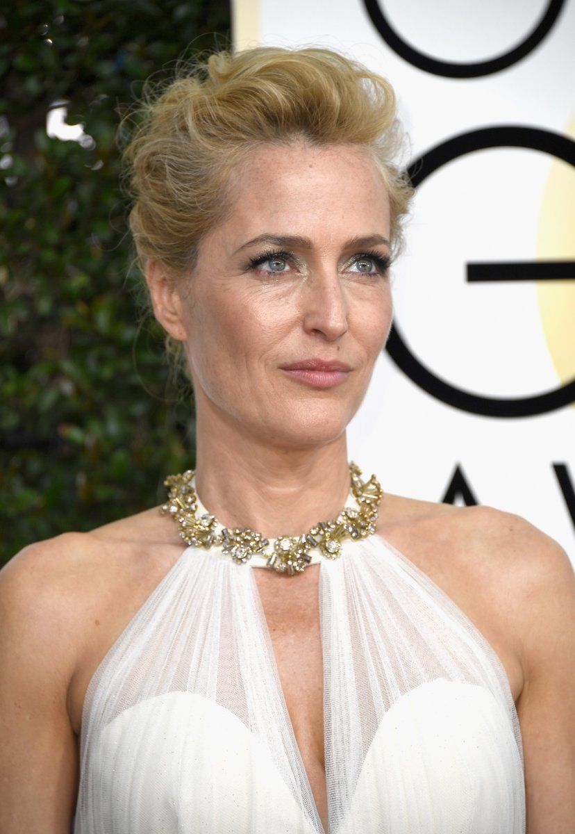 Gillian Anderson, Golden Globe Awards 2017