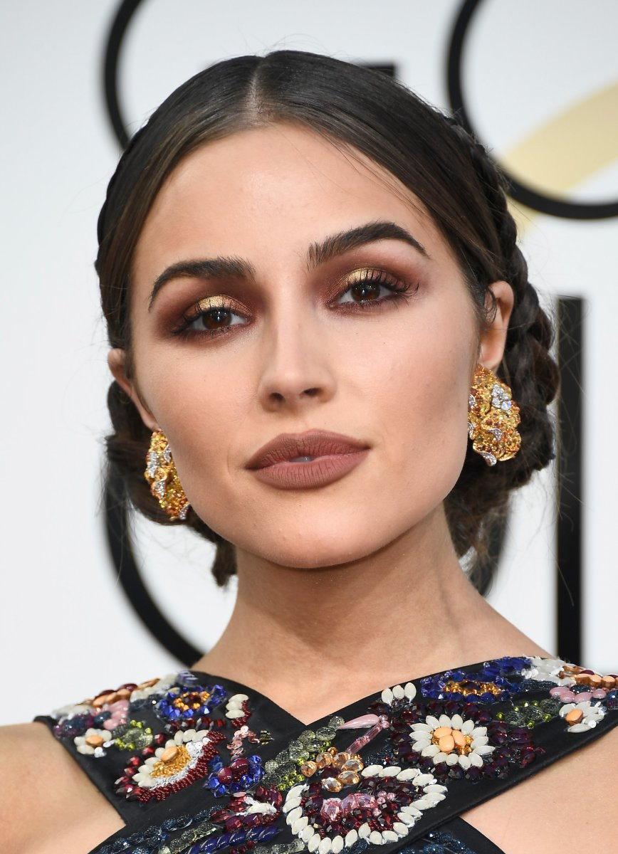 Olivia Culpo, Golden Globe Awards 2017