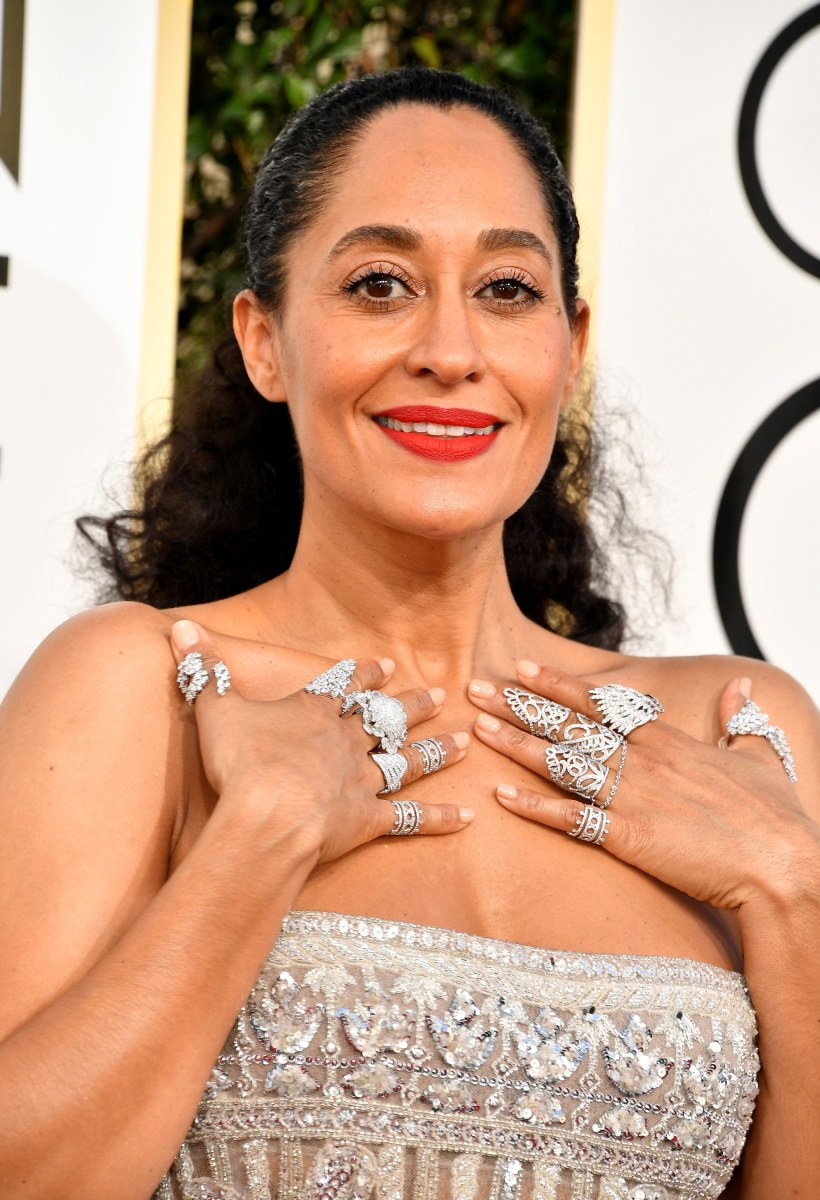 Tracee Ellis Ross, Golden Globe Awards 2017