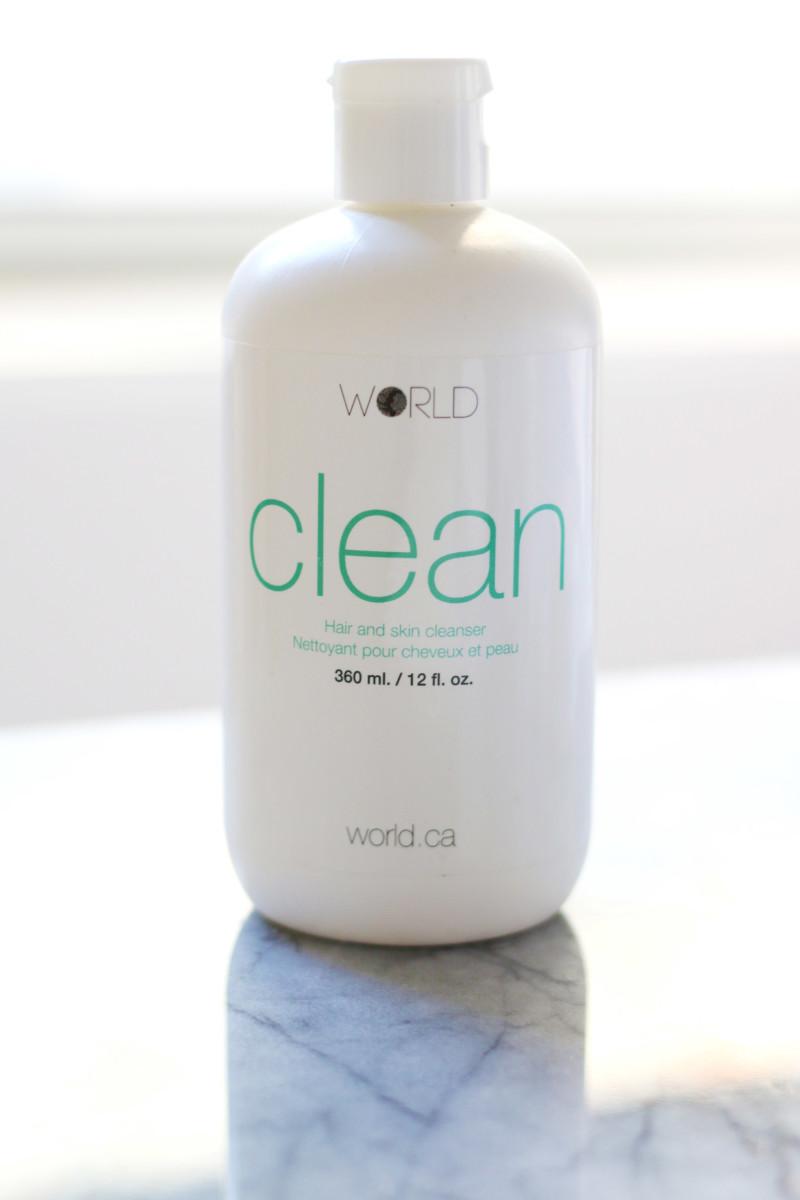 World Clean Hair and Skin Cleanser