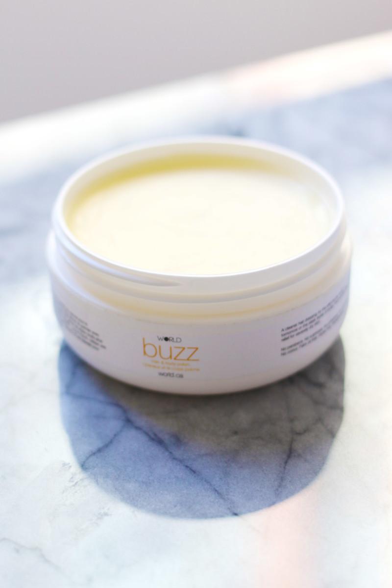 World Buzz Hair and Body Polish