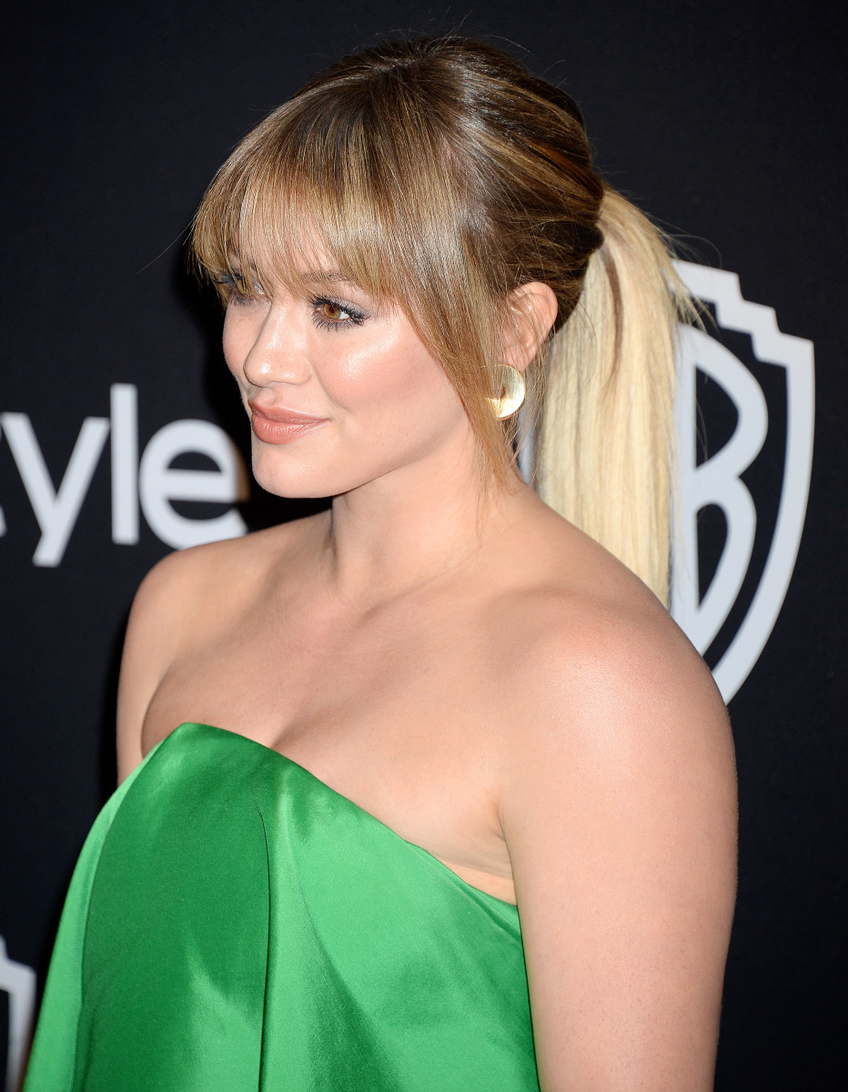 Hilary Duff, Warner Bros. and InStyle Golden Globes After-Party, 2017