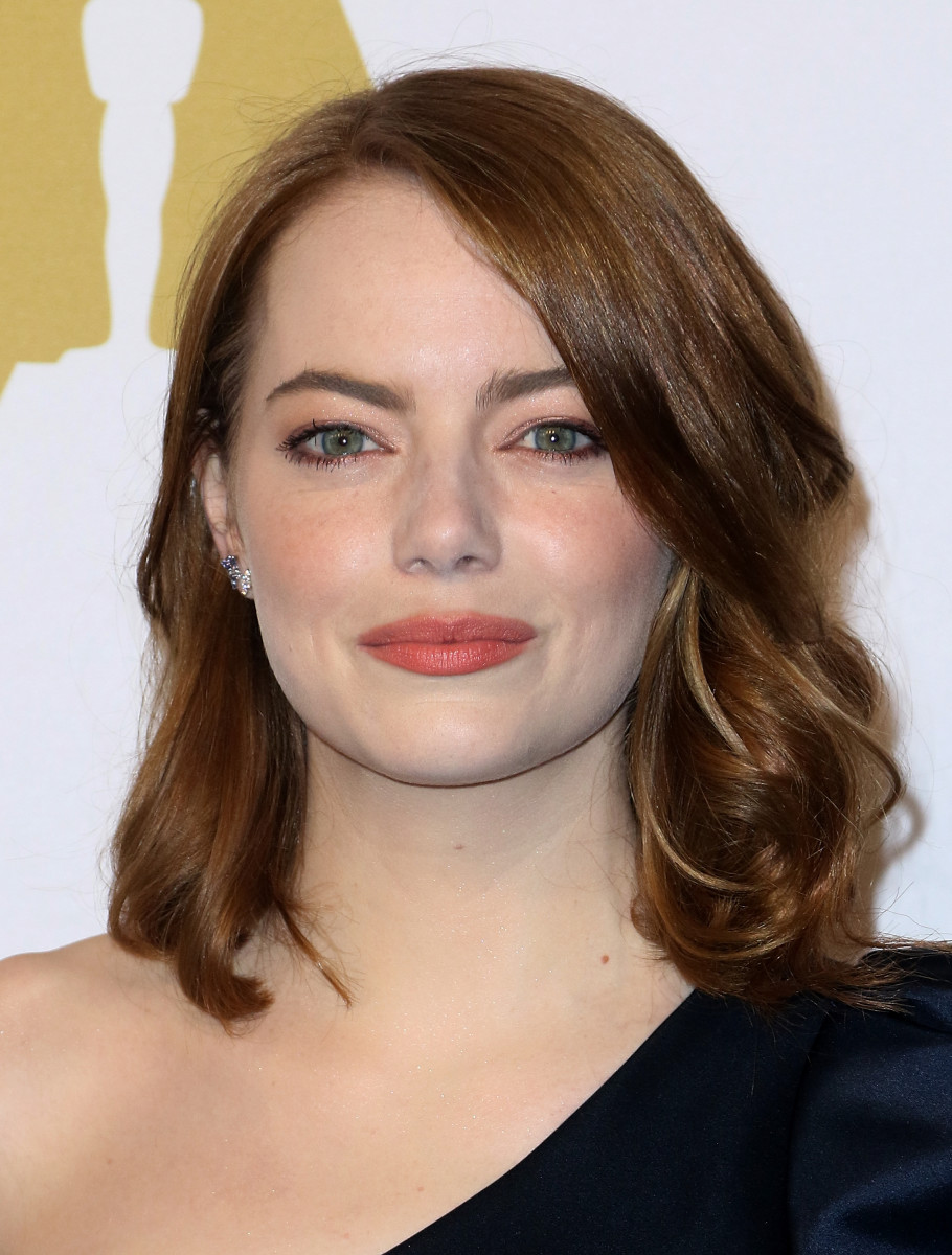 Emma Stone, Academy Awards Nominee Luncheon, 2017