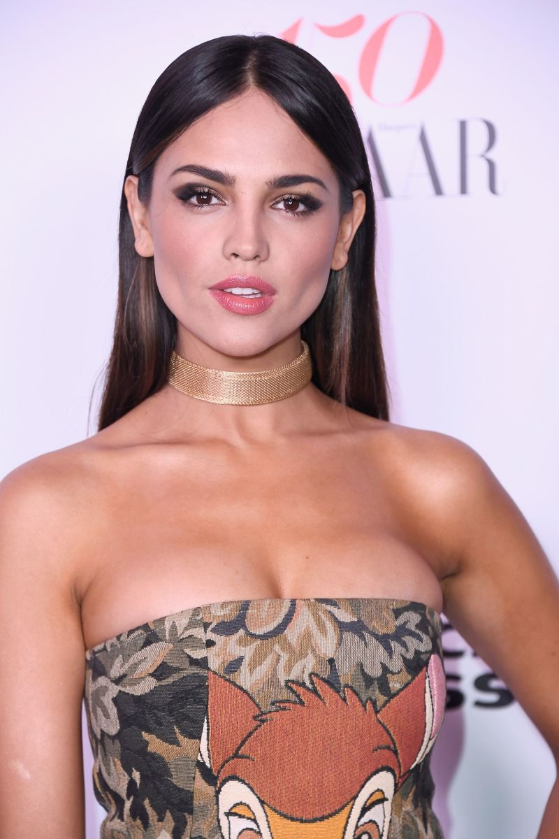 Eiza Gonzalez, Harper's Bazaar 150 Most Fashionable Women party, 2017