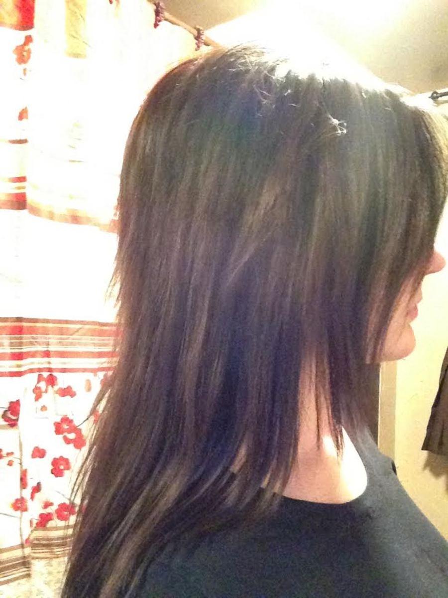 Hair consultation - Julie