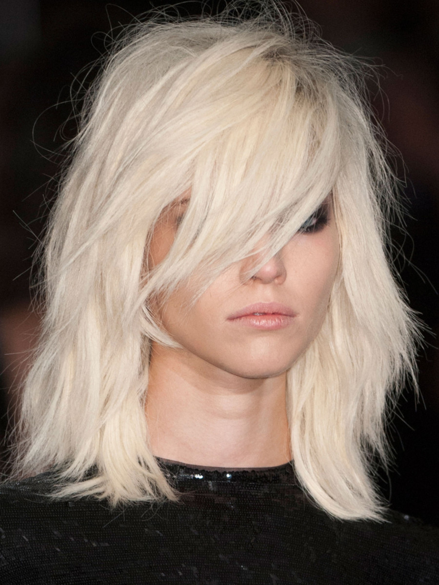 Tom Ford Spring 2015 hair