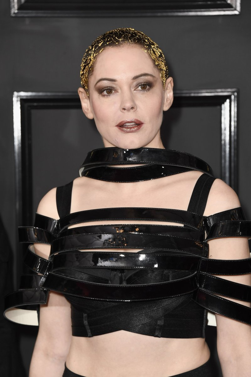 Rose McGowan, Grammy Awards 2017