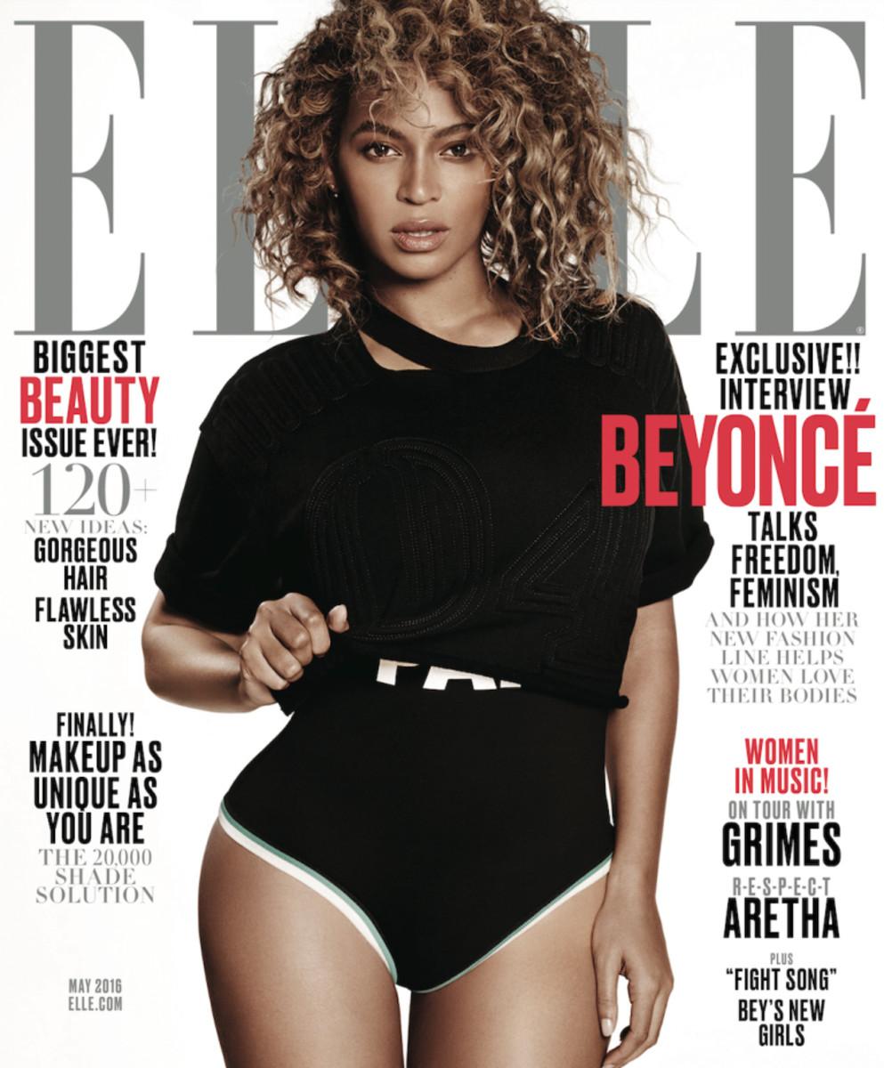 Beyonce, ELLE May 2016
