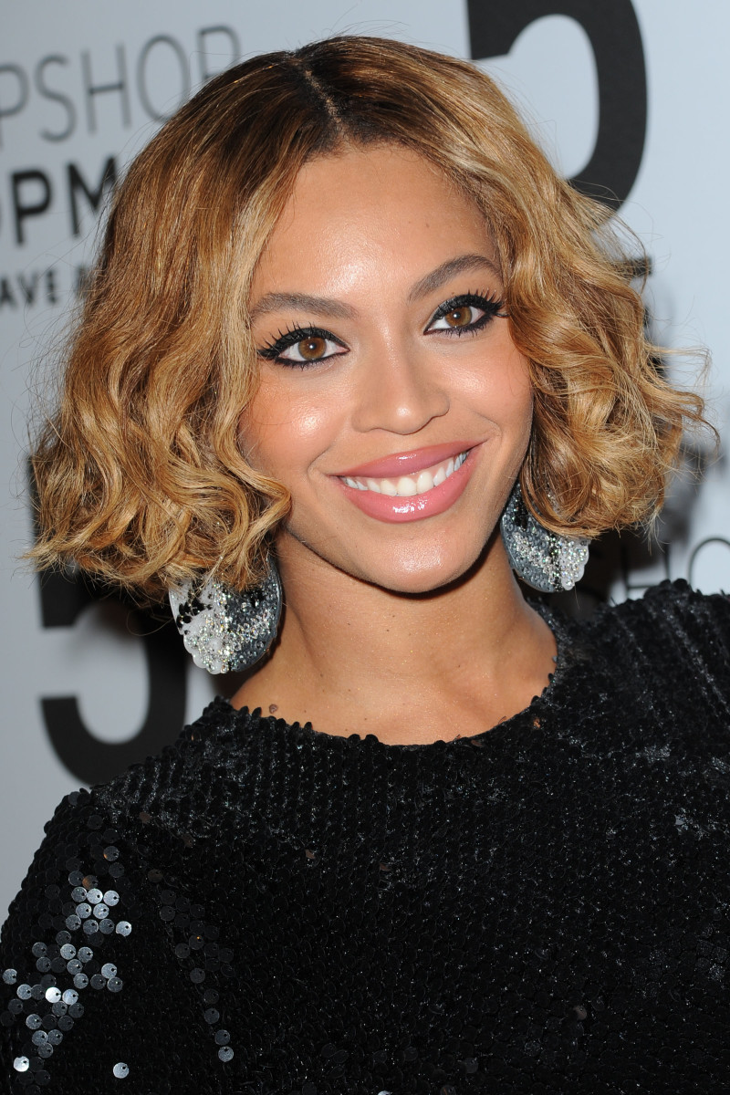 Beyonce Knowles, Topshop flagship opening dinner, 2014