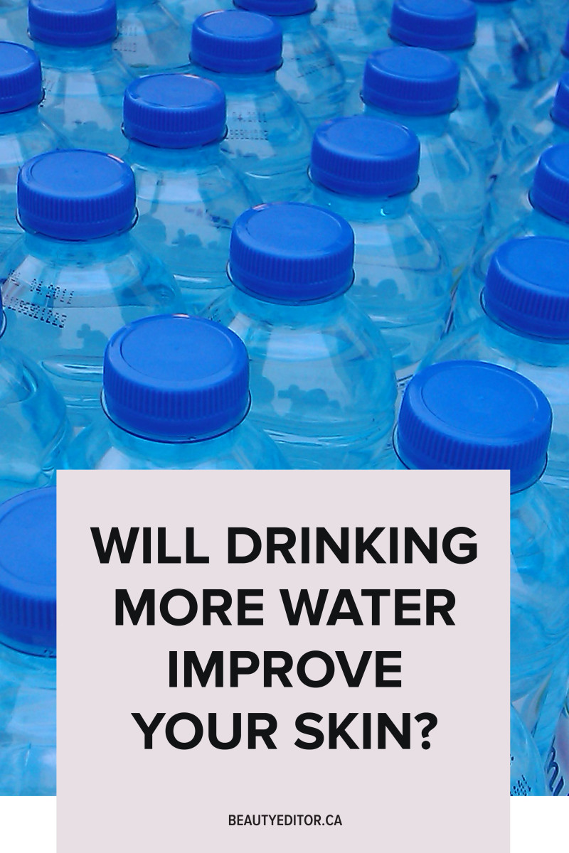 Will drinking more water improve your skin