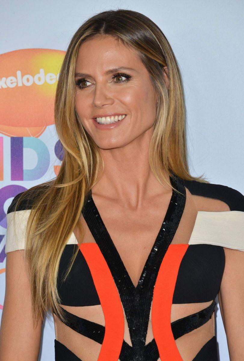 Heidi Klum, Kids' Choice Awards 2017
