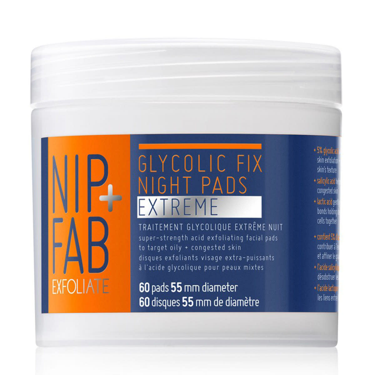 Nip and Fab Glycolic Fix Night Pads Extreme