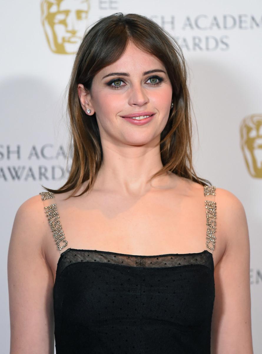 Felicity Jones, BAFTA Awards 2017