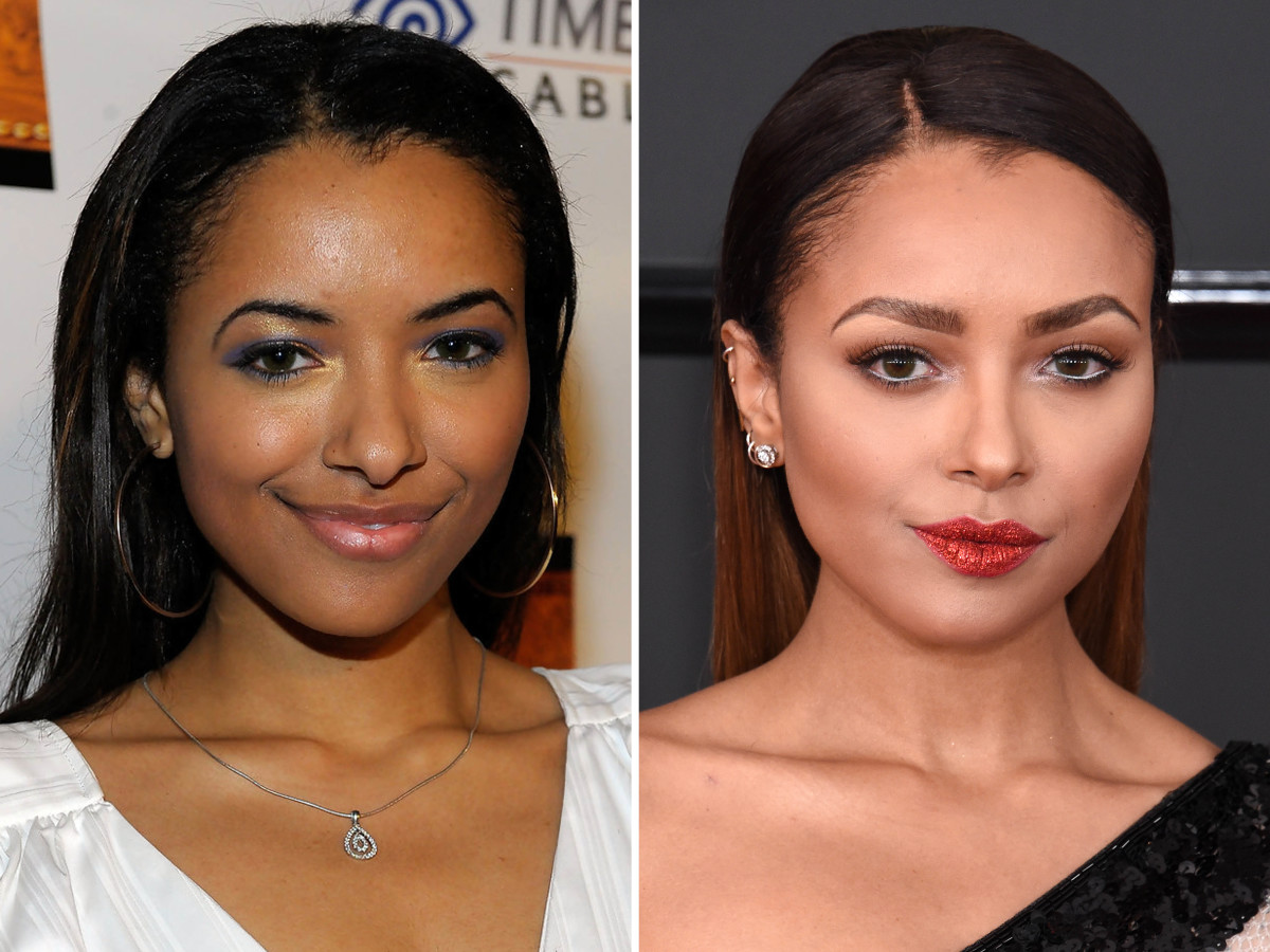 Kat Graham before and after