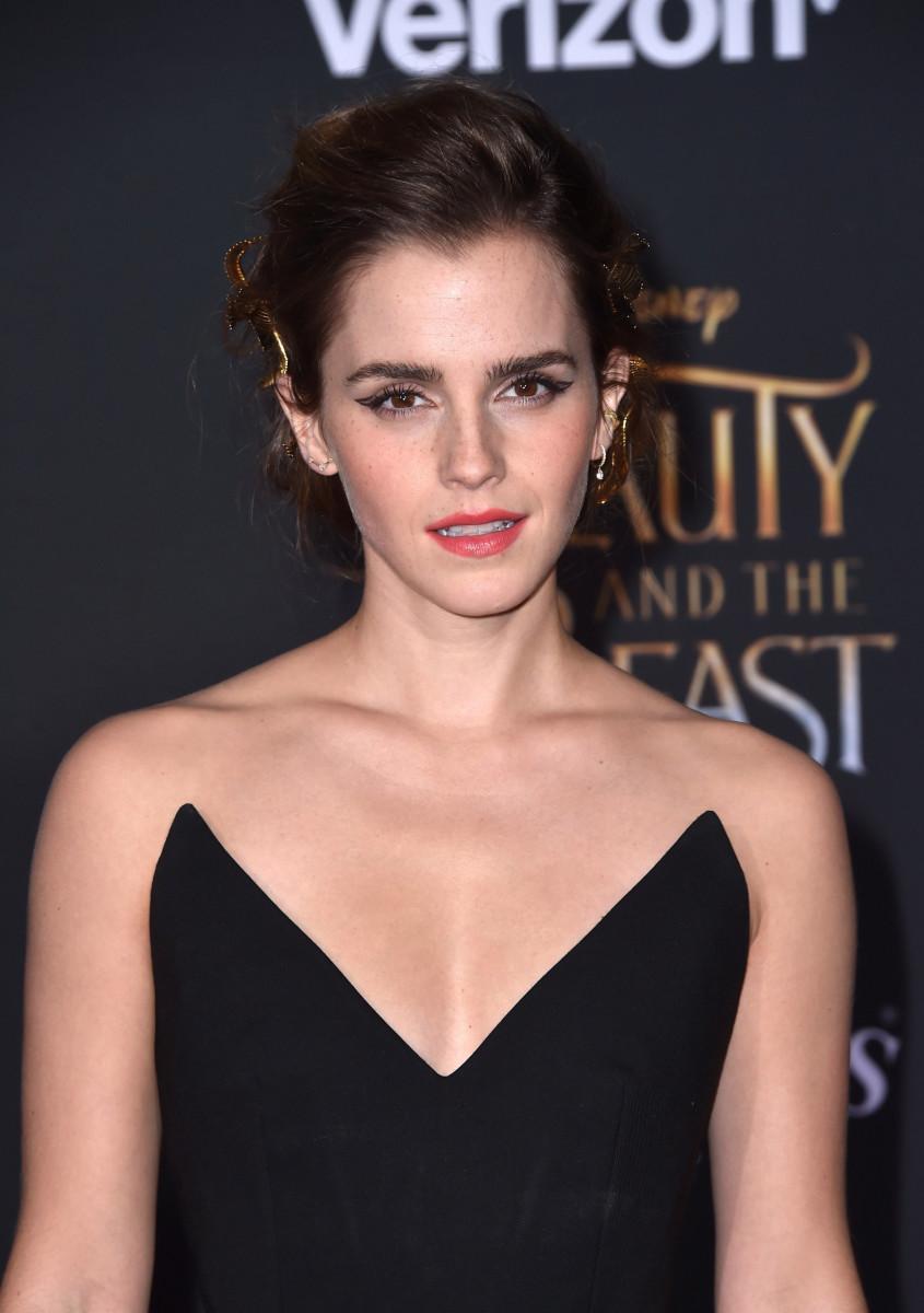 Emma Watson, Beauty and the Beast world premiere, 2017