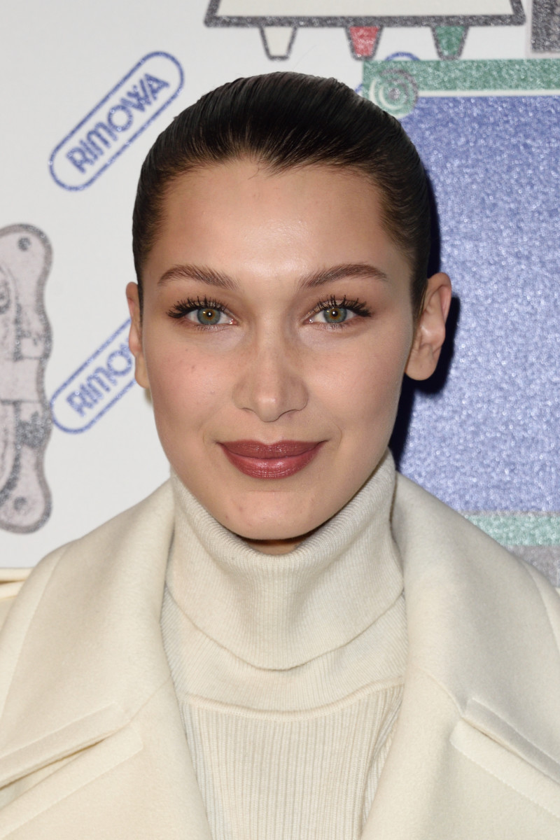 Bella Hadid, Boutique Rimowa opening, 2017