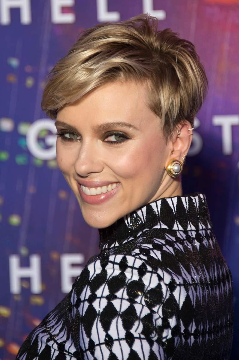 Scarlett Johansson, Ghost in the Shell Paris premiere, 2017