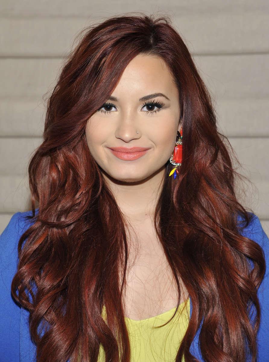 Demi Lovato, Seventeen Power of Friendship Luncheon, 2012