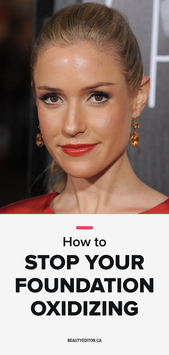 How to stop your foundation oxidizing