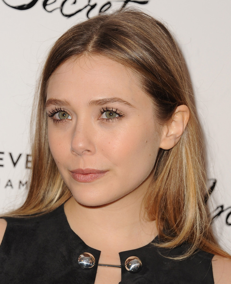 Elizabeth Olsen, In Secret premiere, 2014