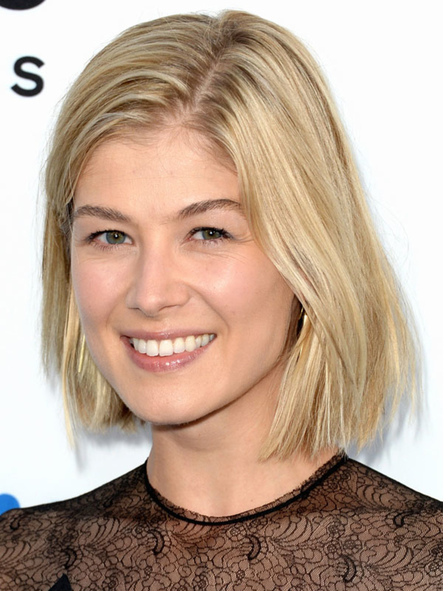 Rosamund Pike, The World's End premiere, 2013