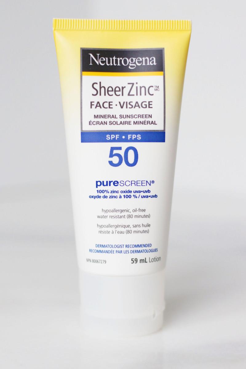 Neutrogena Sheer Zinc Face SPF 50