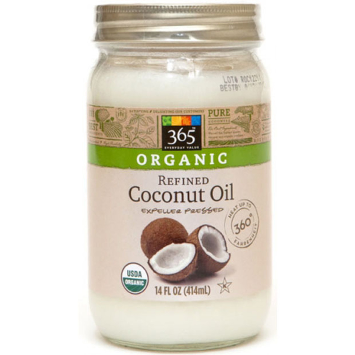 Unrefined or refined coconut oil for hair