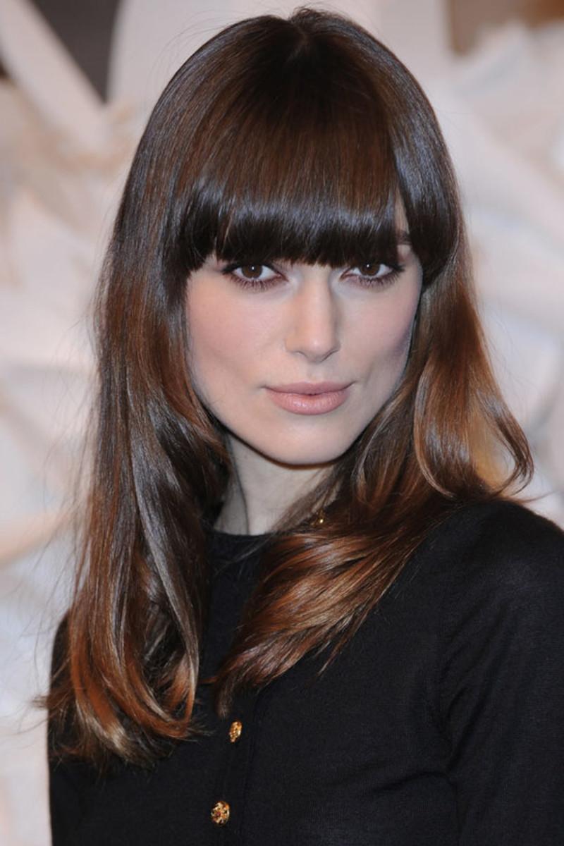 Keira Knightley, Paris Fashion Week, 2009