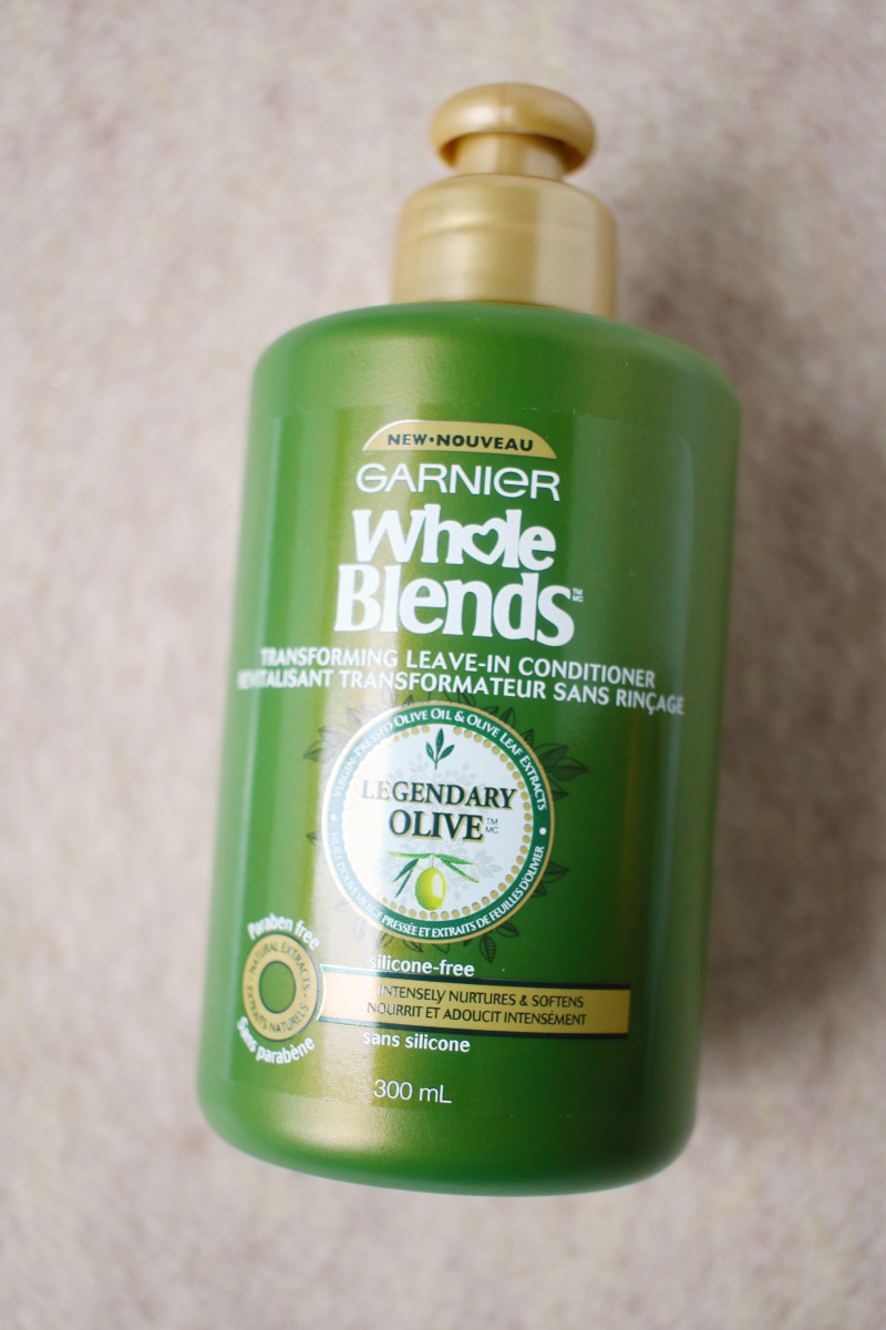 Garnier Whole Blends Transforming Leave-In Conditioner