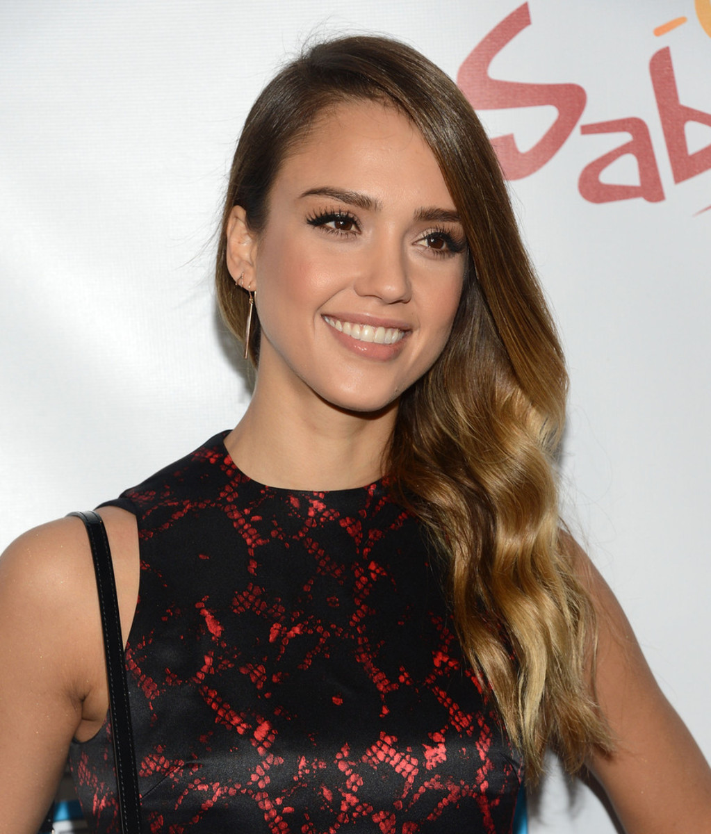 Jessica Alba, Escape From Planet Earth premiere, 2013