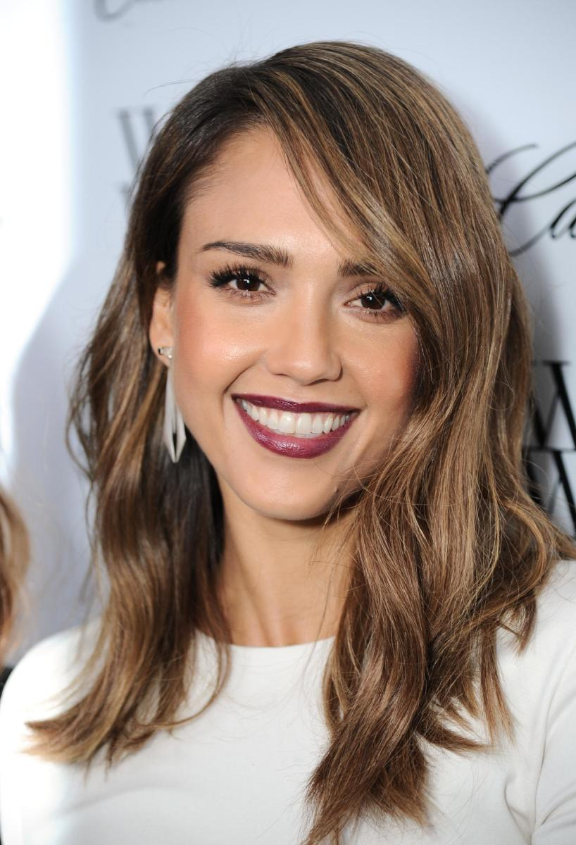 Jessica Alba, 50 Most Fashionable Women of 2013 event, 2013