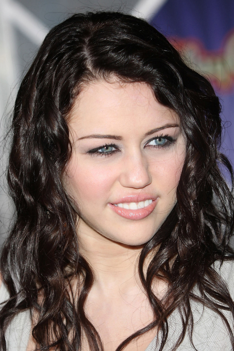 Miley Cyrus, Before and After - Beautyeditor Miley Cyrus