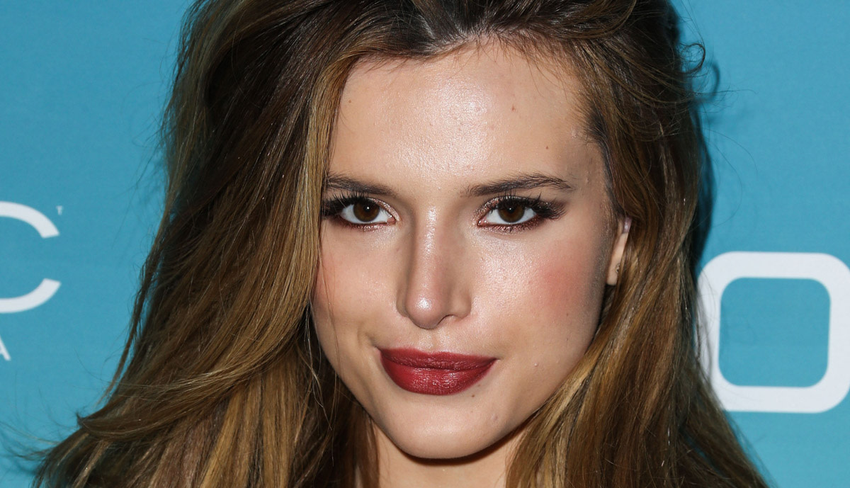 bella thorne, before and after - beautyeditor
