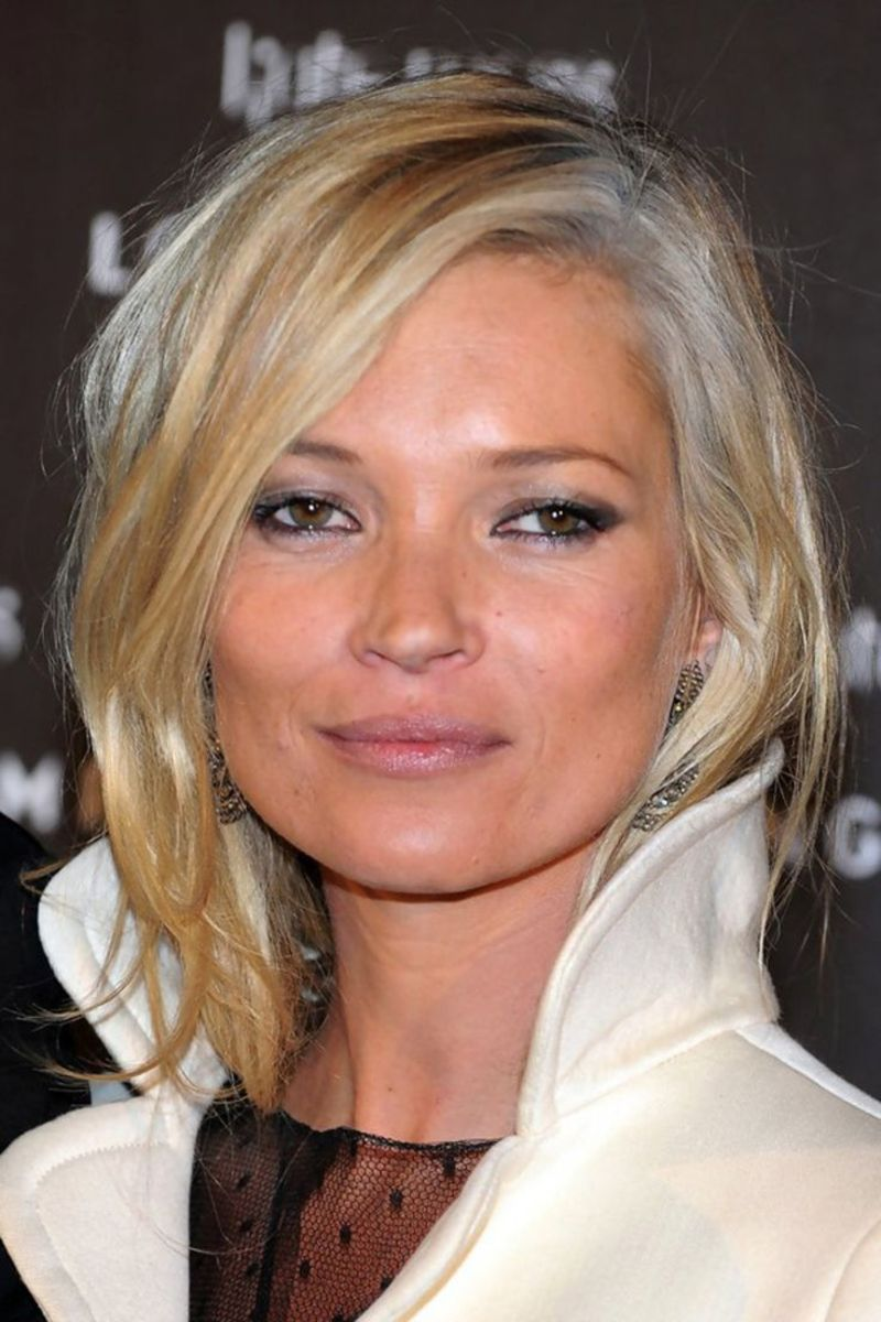 Kate Moss, Longchamp collecton launch, 2010