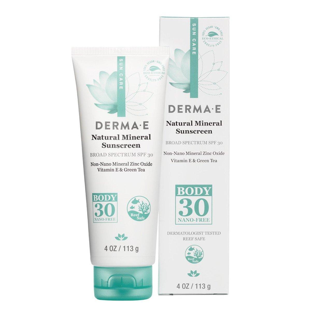 Derma E Natural Mineral Susncreen SPF 30