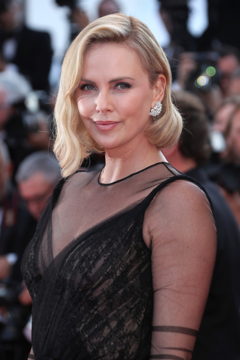 Charlize Theron, Cannes 70th anniversary celebration, 2017